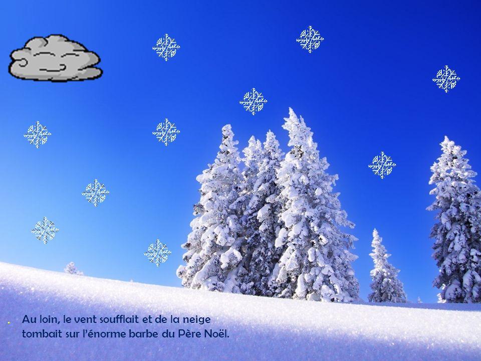 Le 25 décembre, Père Noël remplit son chariot de merveilleux cadeau à donner aux enfants qui avaient été bien sages.