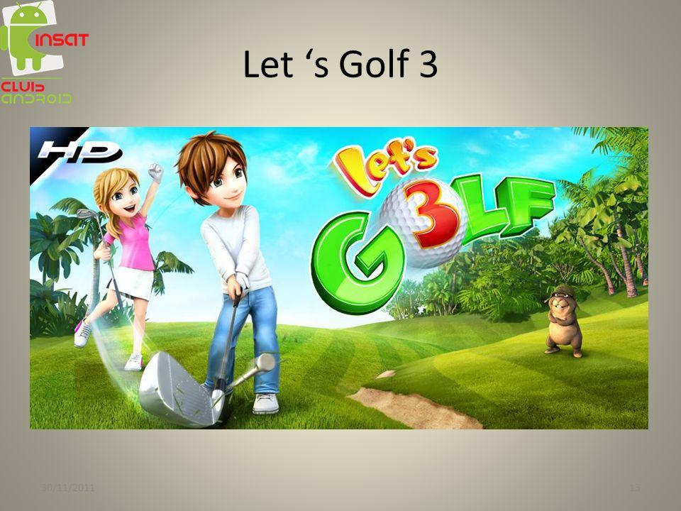 Let s Golf 3 30/11/201113