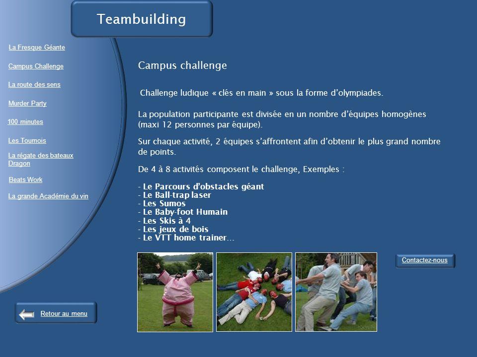 Campus challenge Challenge ludique « clés en main » sous la forme dolympiades.