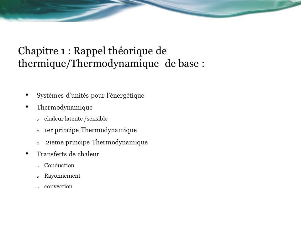 Deuxième principe de la thermodynamique Objectif : prévoir le sens dévolution des systèmes et étude des cycles Exemple 1 : détente dun gaz Exemple 2 : Thermodynamique