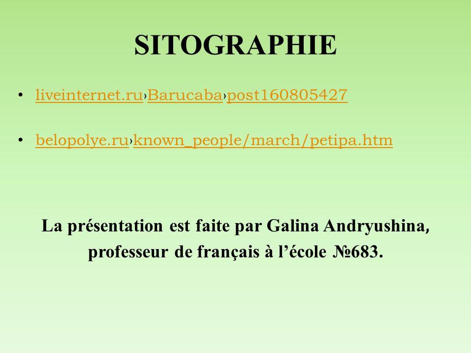 SITOGRAPHIE liveinternet.ruBarucabapost160805427 liveinternet.ruBarucabapost160805427 belopolye.ruknown_people/march/petipa.htm belopolye.ruknown_peop