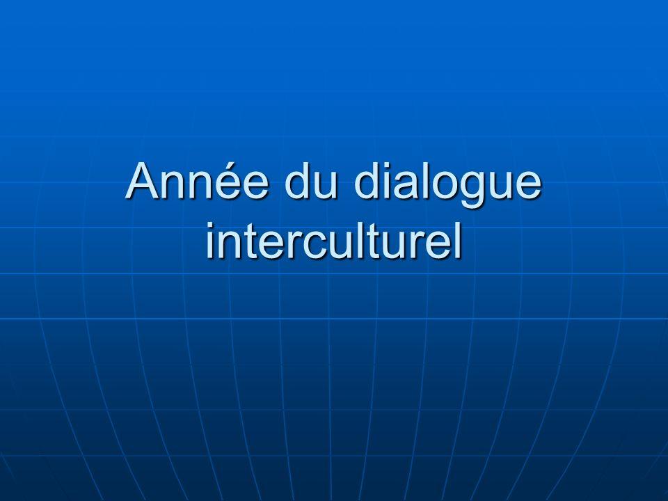 Année du dialogue interculturel