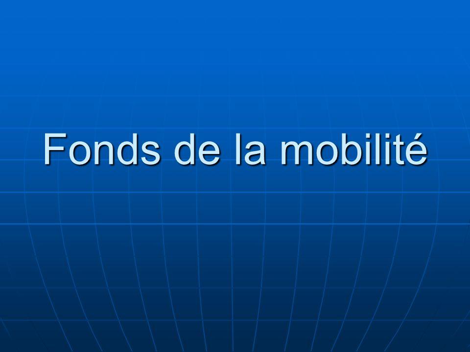 Fonds de la mobilité