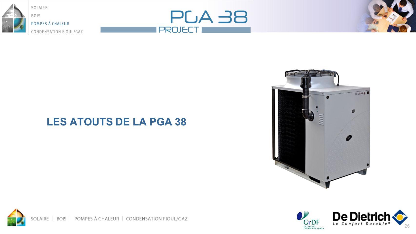 26 LES ATOUTS DE LA PGA 38