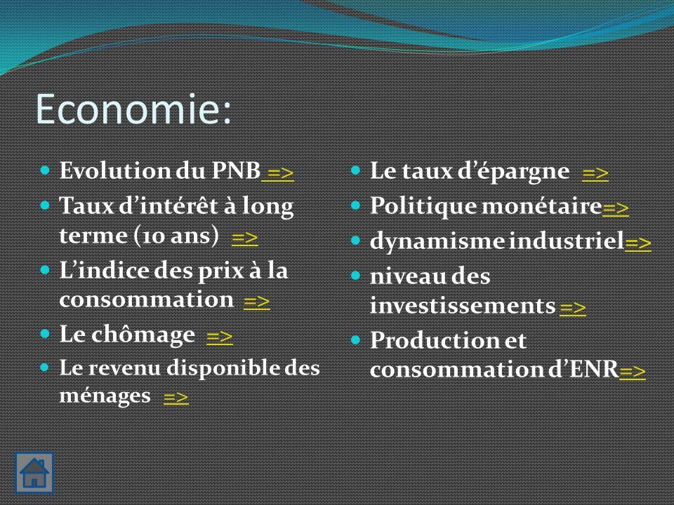 Economie Politique monétaire Action des pouvoirs publics mènent politiques volontaristes pour soutenir le développement des ENR => permet développement du marché du PV En France, la consommation d énergie des ménages représente 15% de leurs dépenses.