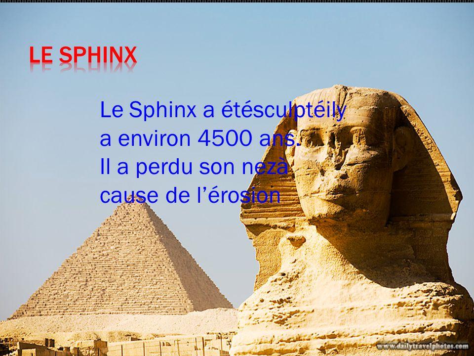 Les pyramidesd Egypte