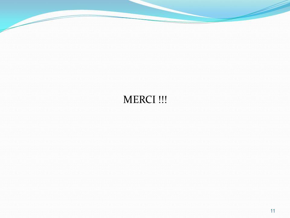 MERCI !!! 11