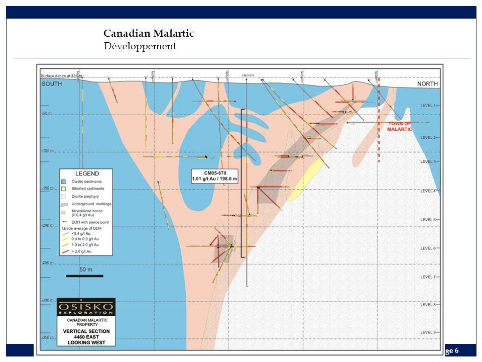 Canadian Malartic Développement Page 6