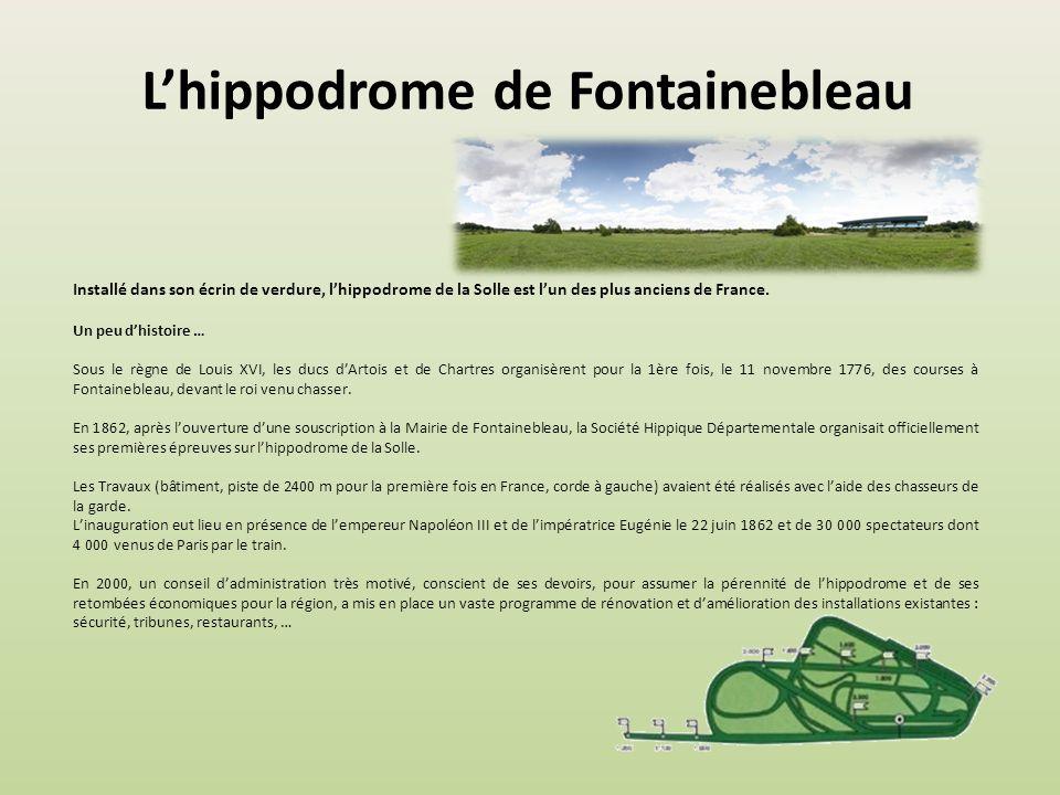Lhippodrome de Dieppe Lhippodrome de Dieppe est un site de 70 hectares aux portes de Dieppe, avec une piste en herbe de 2 000 m accueillant au plus ha