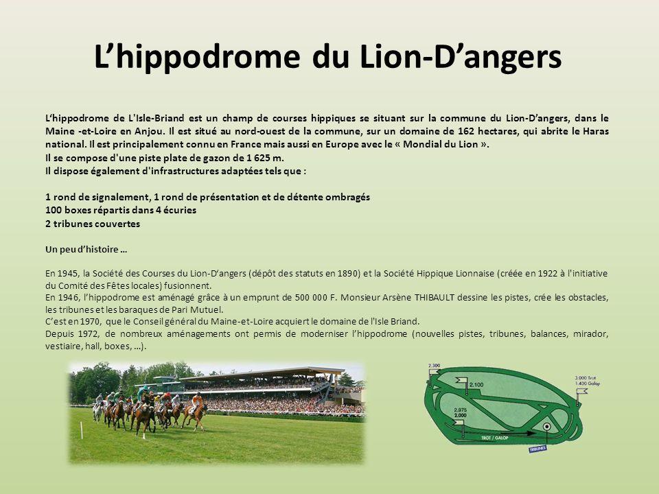 Lhippodrome de Craon Lhippodrome de Craon sétend sur 65 ha, en plein cœur de la Mayenne, berceau de lélevage, accueillant les 12 km des 3 pistes en he