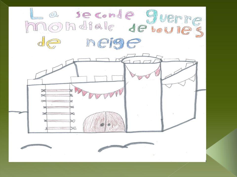 La veille de Noël,un petit gars qui a les cheveux roux, les yeux bruns et qui sappelle Jean- Guy invite ses amis pour discuter de leur guerre de boules de neige dans un champ.