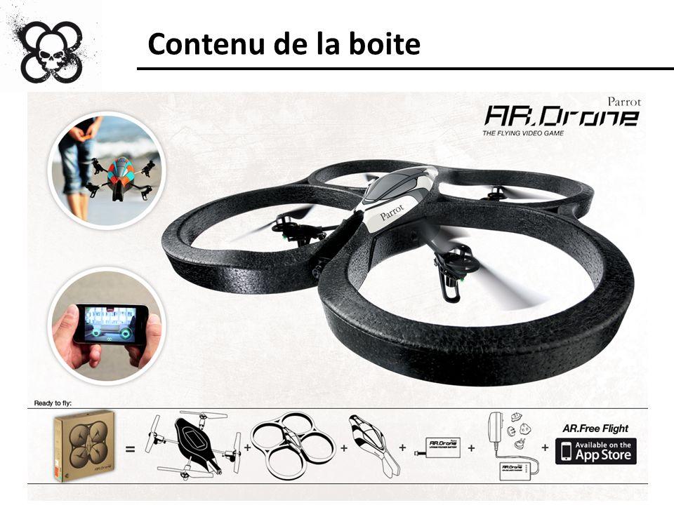 Pourquoi lAR.Drone est-il exclusivement développé pour liPhone / liPod Touch et non pour un autre Smartphone ou une autre plateforme de jeux .