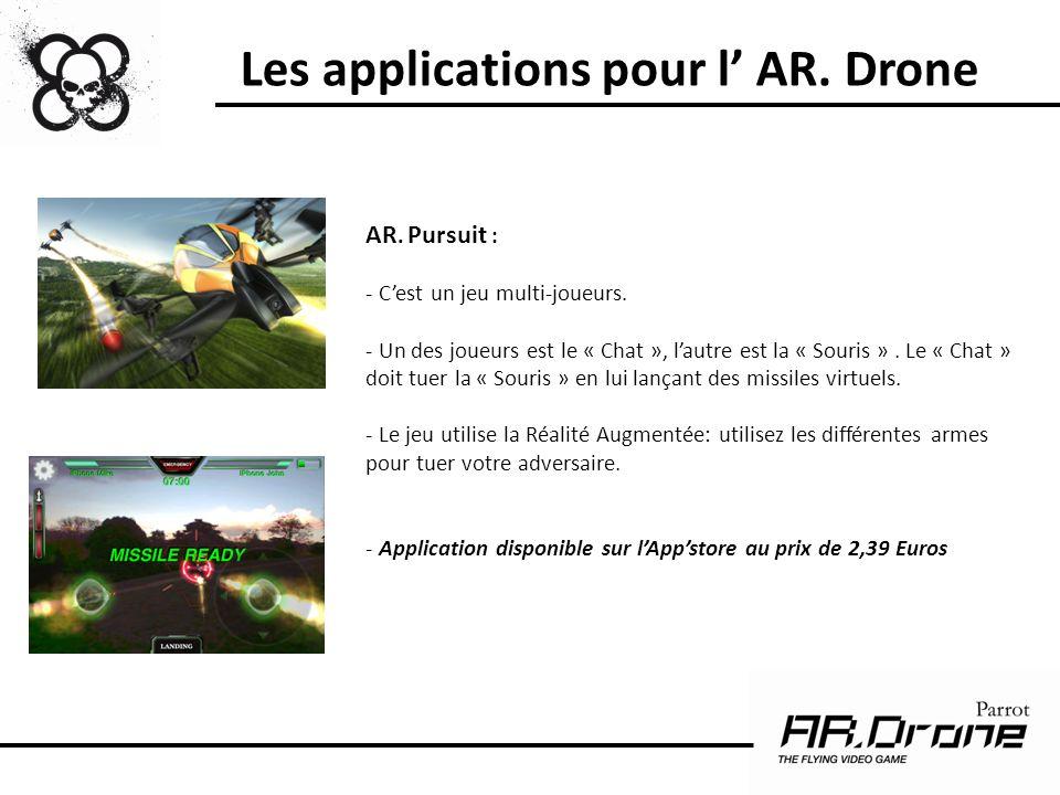 Est-ce que le consommateur peut changer ou réparer lui-même des pièces de lAR.Drone .