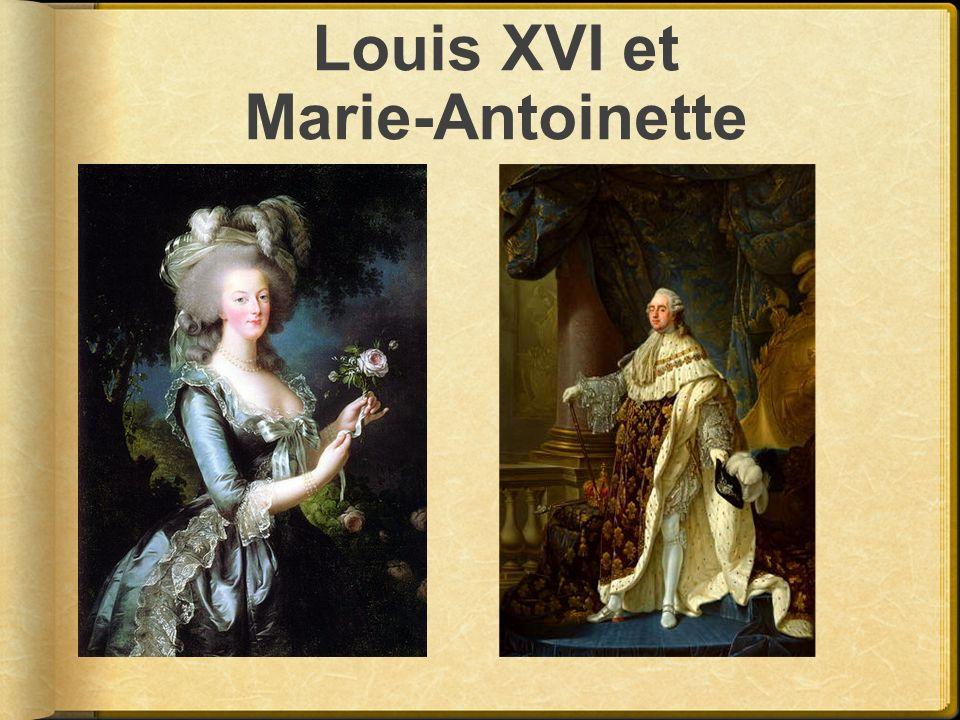 Louis XVI et Marie-Antoinette