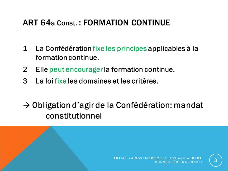ART 64 a Const.