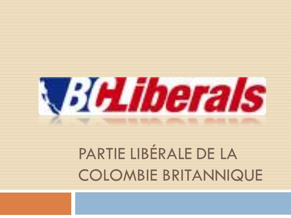 Lhistoire du partie Fonder en 1903, les premiers libérales nétaient pas impliquer dans les politiques de la Colombie Britannique jusquà lélection de 1916.