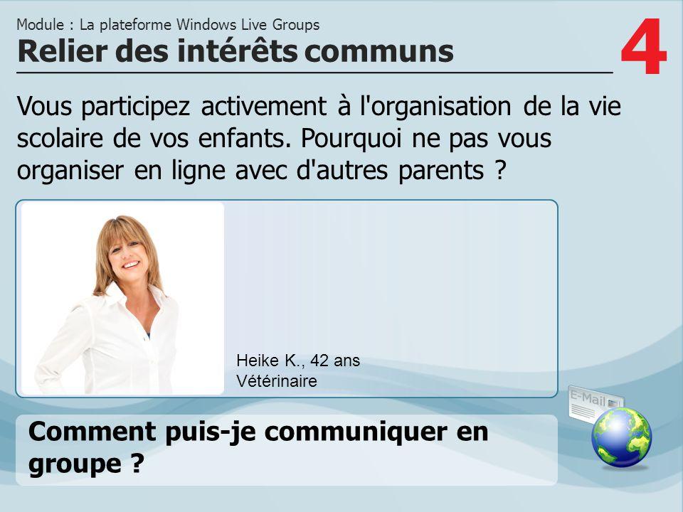 4 Vous participez activement à l organisation de la vie scolaire de vos enfants.