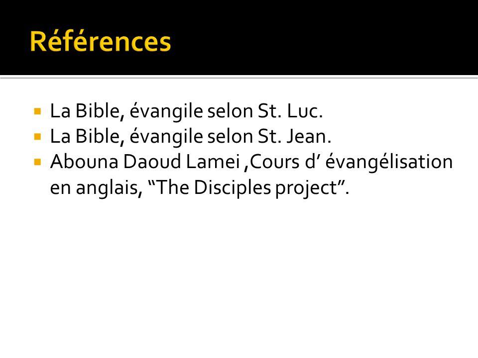 La Bible, évangile selon St. Luc. La Bible, évangile selon St.