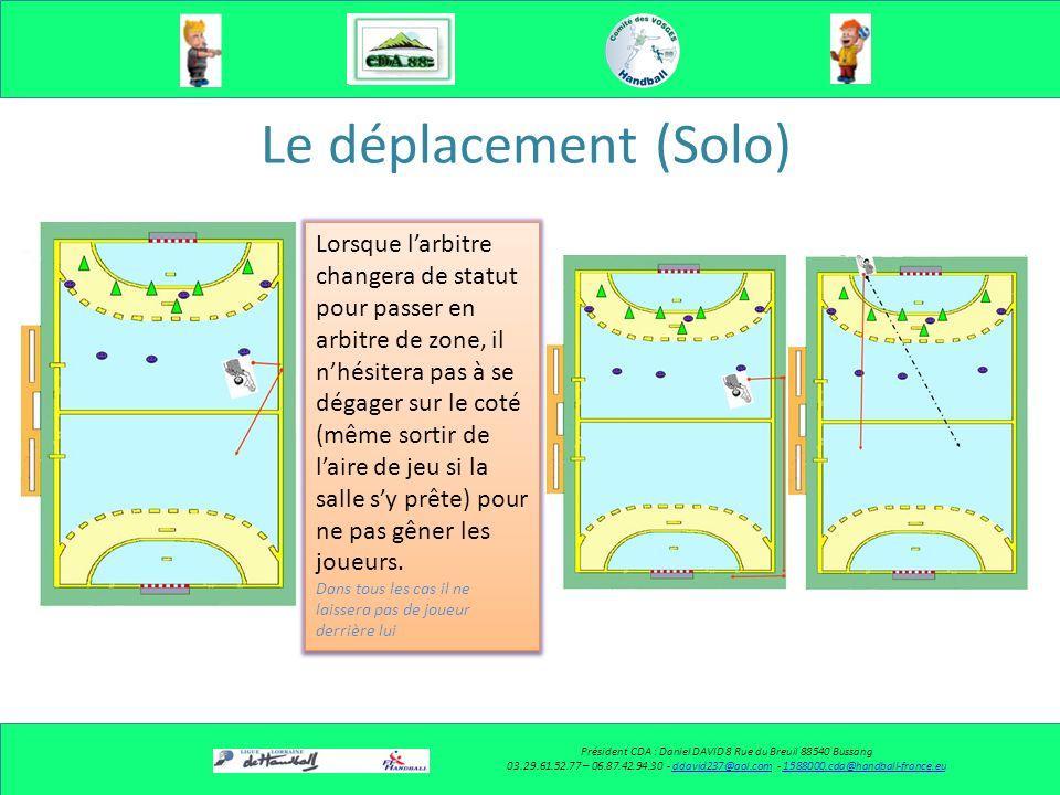 Le déplacement (Solo) Président CDA : Daniel DAVID 8 Rue du Breuil 88540 Bussang 03.29.23.27.48 – 06.87.42.94.30 - ddavid237@aol.com - 1588000.cda@handball-france.euddavid237@aol.com1588000.cda@handball-france.eu