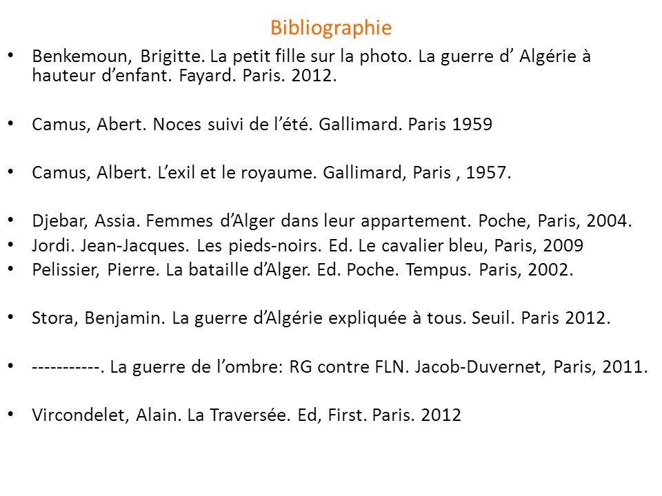 Bibliographie Benkemoun, Brigitte.La petit fille sur la photo.