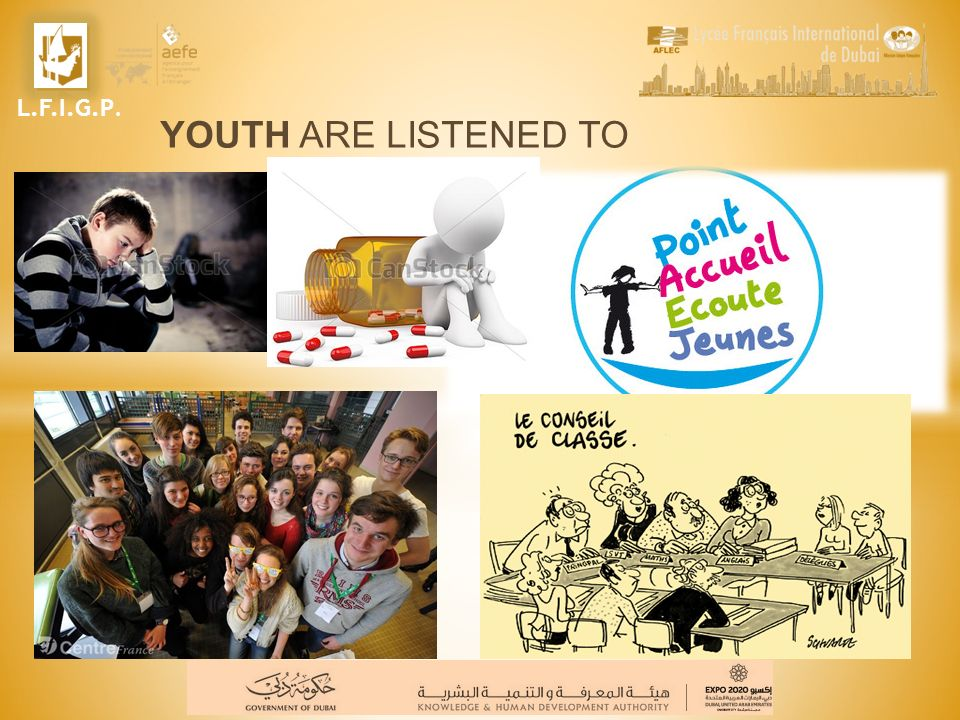 L.F.I.G.P. YOUTH ARE LISTENED TO