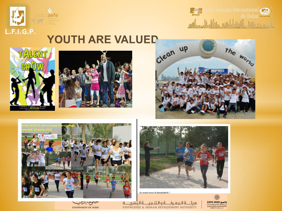 L.F.I.G.P. YOUTH ARE VALUED
