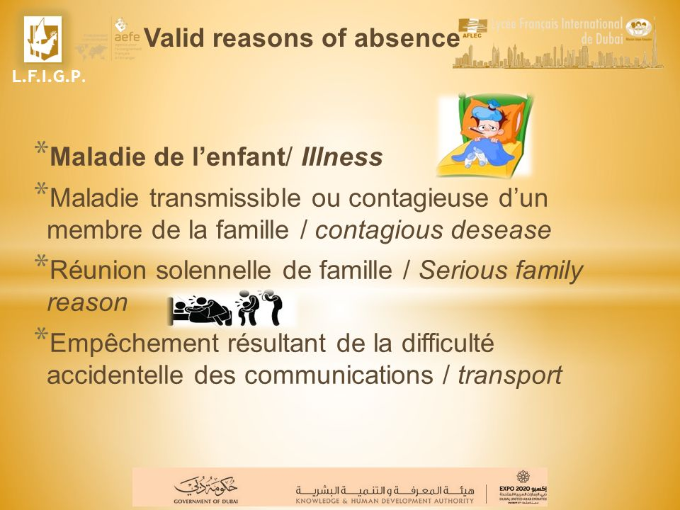 Le Conseiller Principal dEducation / Counsellor or Assistant Head Teachers He is working with the teachers and other school personnel in order to follow students situations.