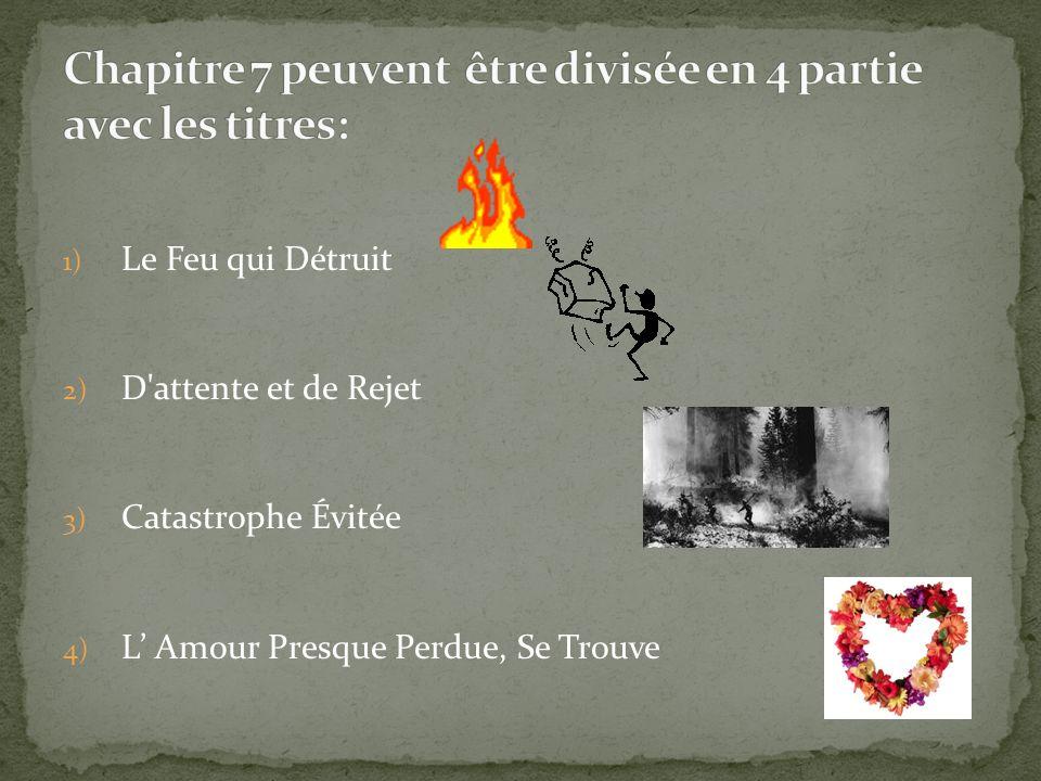 1) Le Feu qui Détruit 2) D'attente et de Rejet 3) Catastrophe Évitée 4) L Amour Presque Perdue, Se Trouve