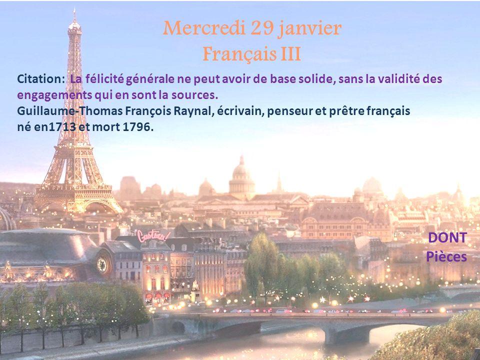 Français III DONT Dont replaces the person or thing after dede Où est le reçu .