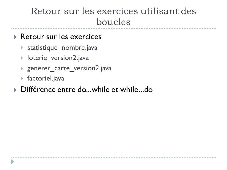 Laboratoire Reprenez lexercice combat_de_des et créez un programme combat_de_des_version2 qui bouclera si on entre au clavier nimporte quel texte et arrête de boucler lorsquon entre le caractère q.