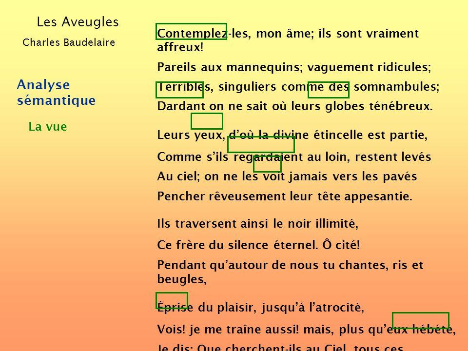 Éclaircissons ensuite la structure des vers et des phrases... Comment analyser un poème? Observons dabord ses caractéristiques formelles... Éclairciss