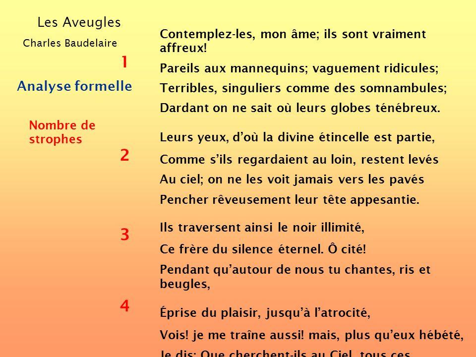 Comment analyser un poème? Observons dabord ses caractéristiques formelles... ?
