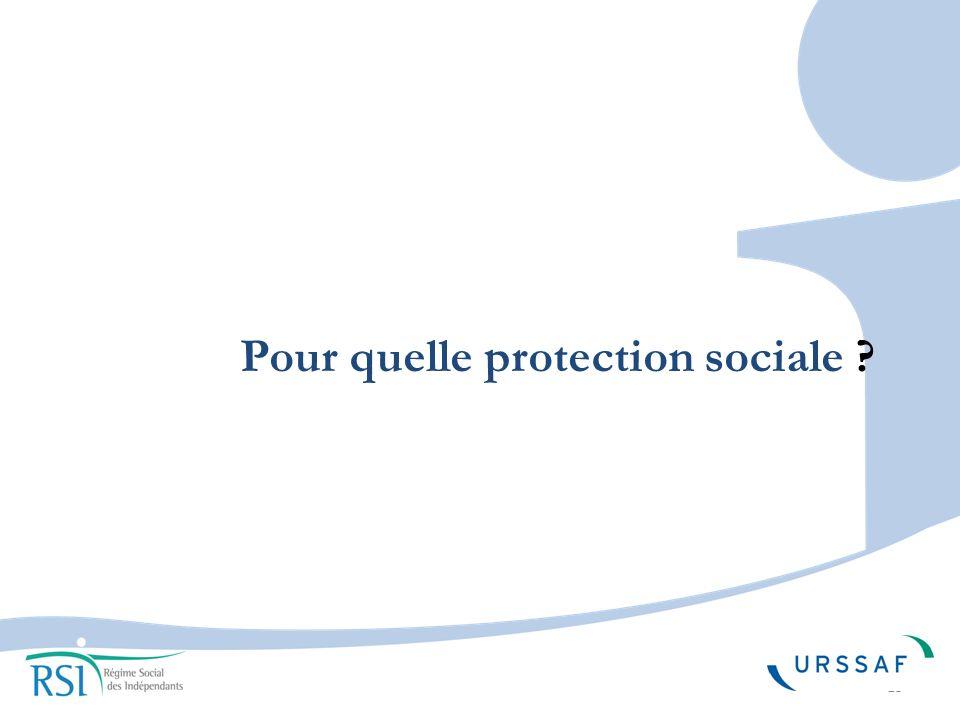 13 Pour quelle protection sociale ?