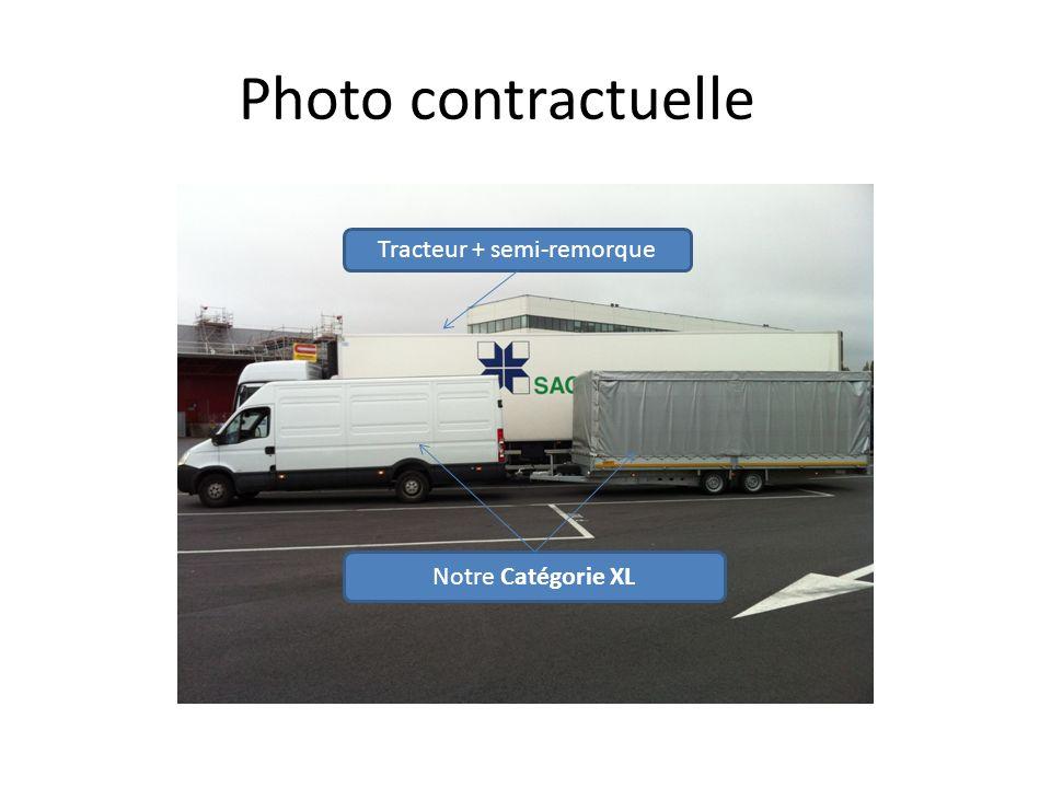 Photo contractuelle Notre Catégorie XL Tracteur + semi-remorque