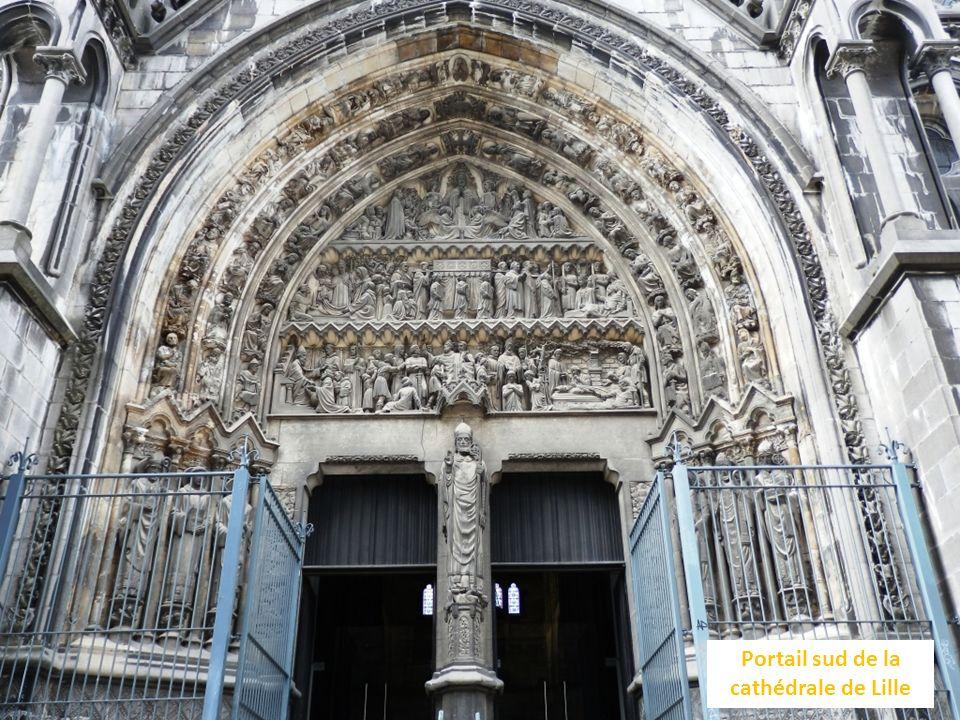 Portail sud de la cathédrale de Lille