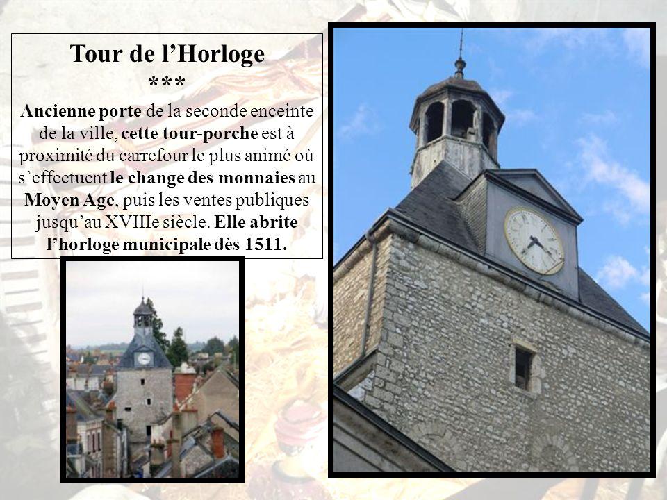 Le Château Dunois *** Compagnon darmes de Jeanne dArc, Jean, Bâtard dOrléans (1403-1460) devient comte de Dunois et, par son mariage avec Marie dHarcourt, seigneur de Beaugency.