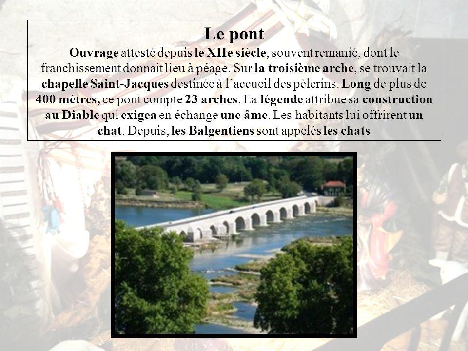 Beaugency, par sa position de forteresse sur la Loire, fut une ville souvent contestée.