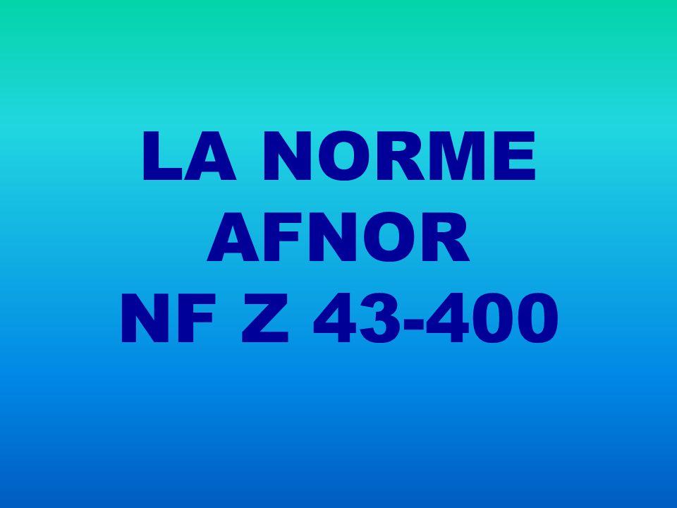 NORME FRANCAISE HOMOLOGUÉE EN SEPTEMBRE 2005 NF Z 43-400 ARCHIVAGE DES DONNÉES ÉLECTRONIQUES COM COLD