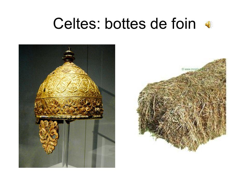 Celtes: bottes de foin