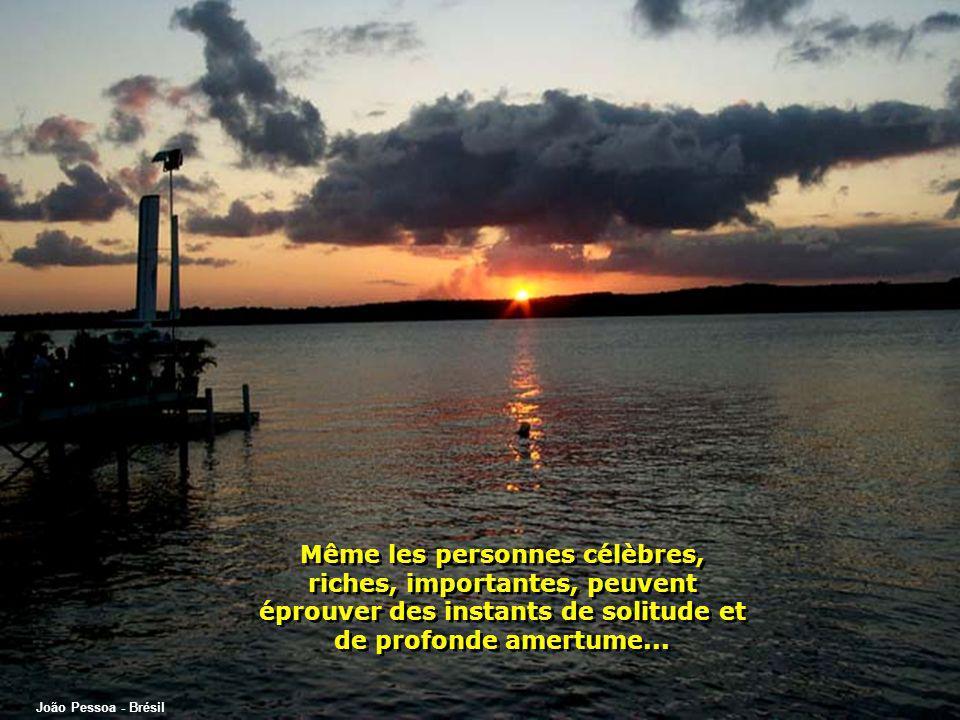 Rio Piracicaba - Brésil Qui encore, ne sest jamais senti seul, extrêmement seul, et a eu la sensation davoir perdu tout espoir?