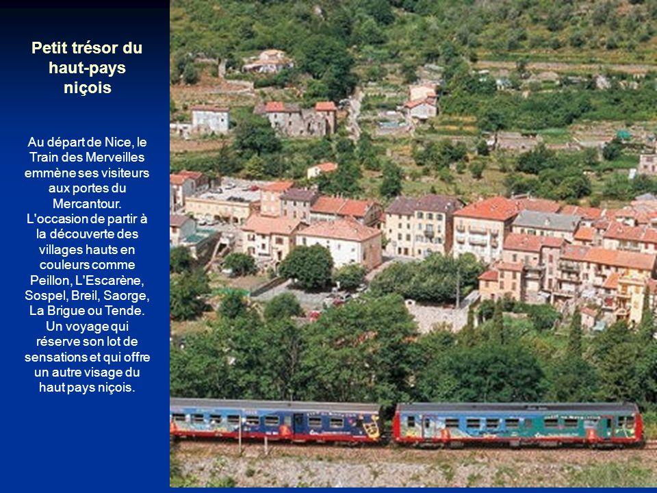 Des paysages ensoleillés de Provence aux pentes enneigées du Col de la Croix Haute Vallons forestiers, alpages, champs d'olivier et de genêts... Depui