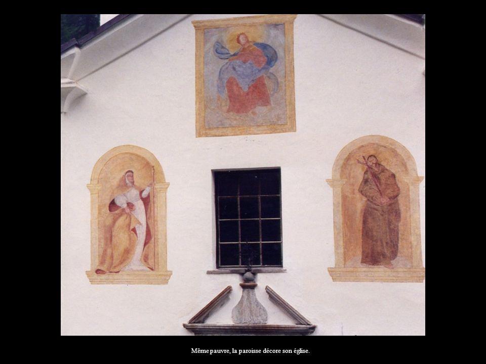 Même pauvre, la paroisse décore son église.