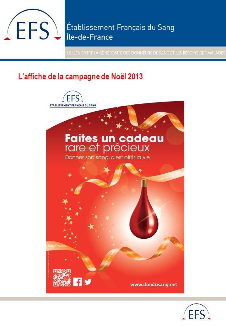 Laffiche de la campagne de Noël 2013