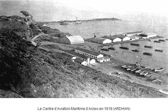 Le Centre dAviation Maritime dArzew en 1918 (ARDHAN)