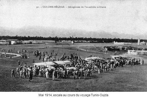 Mai 1914, escale au cours du voyage Tunis-Oujda