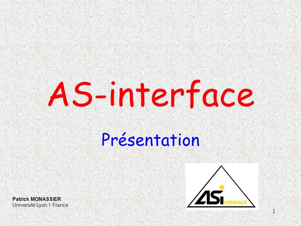 2 Interface actionneur capteur bus industriel pour capteurs et actionneur (TOR).