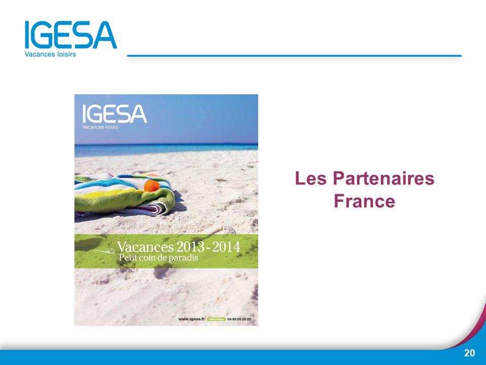 20 Les Partenaires France