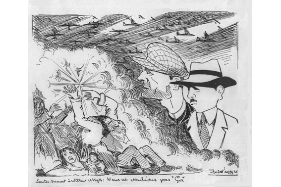 Ouargla, septembre 1939 – Inspection du colonel Carbillet, commandant les Territoires du Sud, en Dewoitine 338 dAir France réquisitionné (Suzanne Périchon)