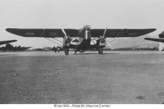Blida 1940 – Potez 54 (Maurice Cronier)