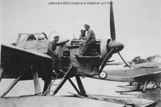 Latécoère 298 à Oubeïra-el-Mellah en juin 1940